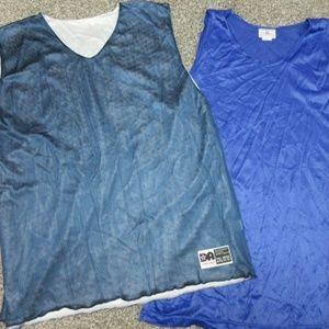 VINTAGE 80s 90s new mesh basketball tanks (2)